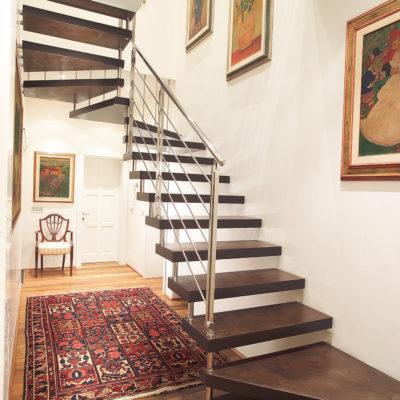scale in legno Marretti