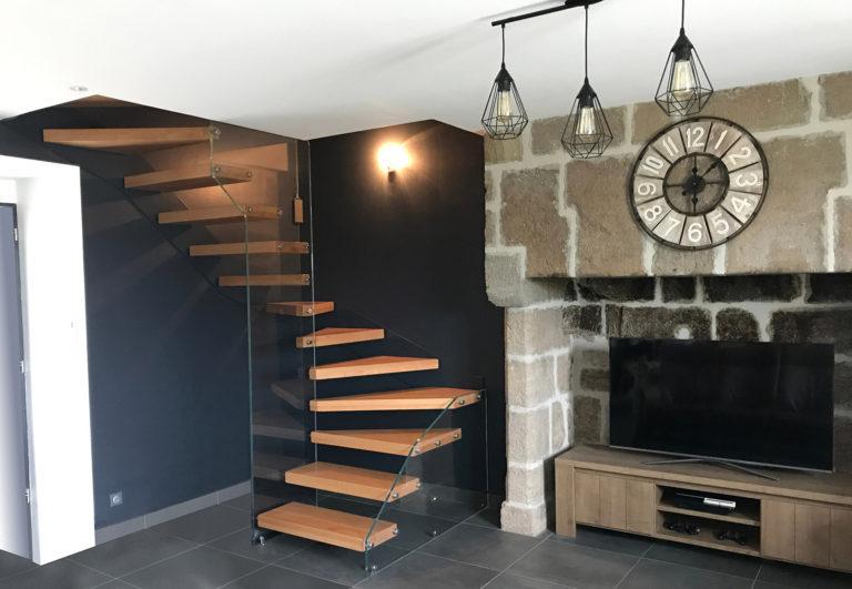 scala-vetro-strutturale-legno-nero3